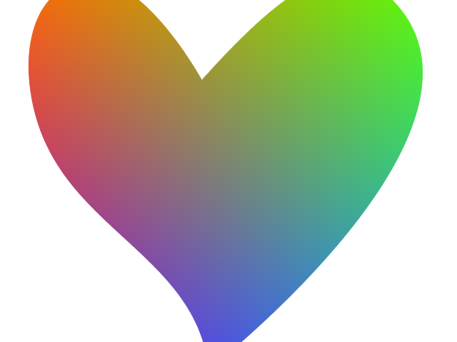 Free download clip art. Heat clipart colorful heart