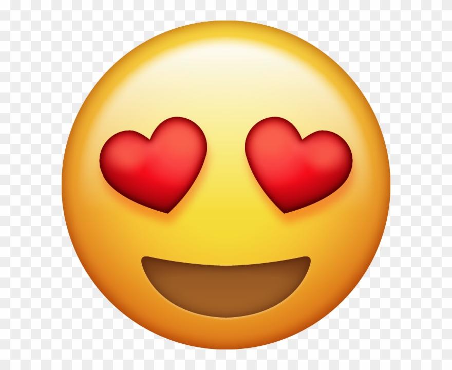 Download eyes emoji free. Heat clipart coloured heart