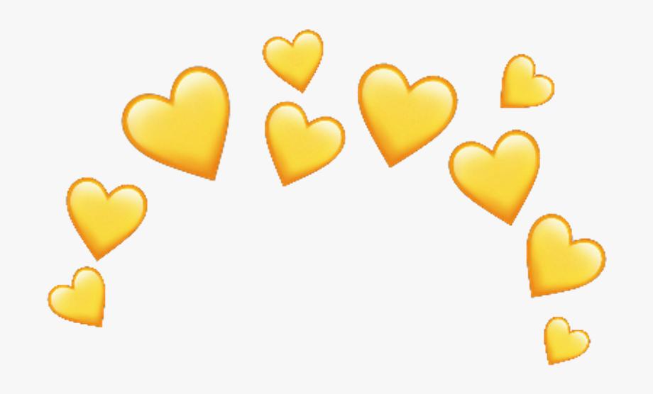 Iphone emoji transparent png. Heat clipart coloured heart