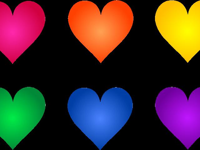 Heat clipart coloured heart. Free download clip art