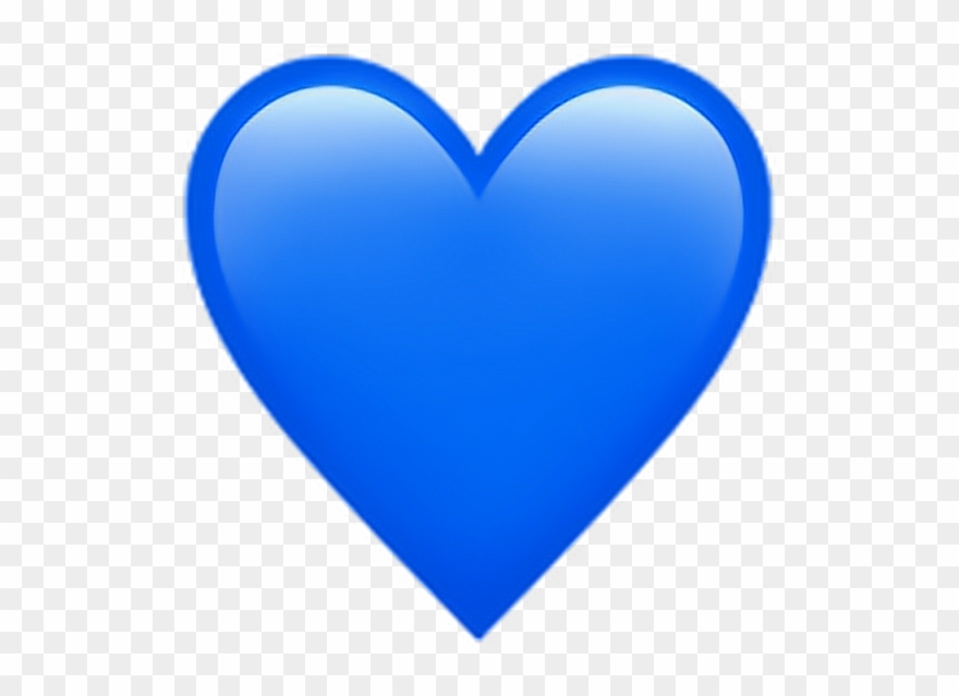 Heat clipart colourful heart. Discover the coolest blueheartemoji