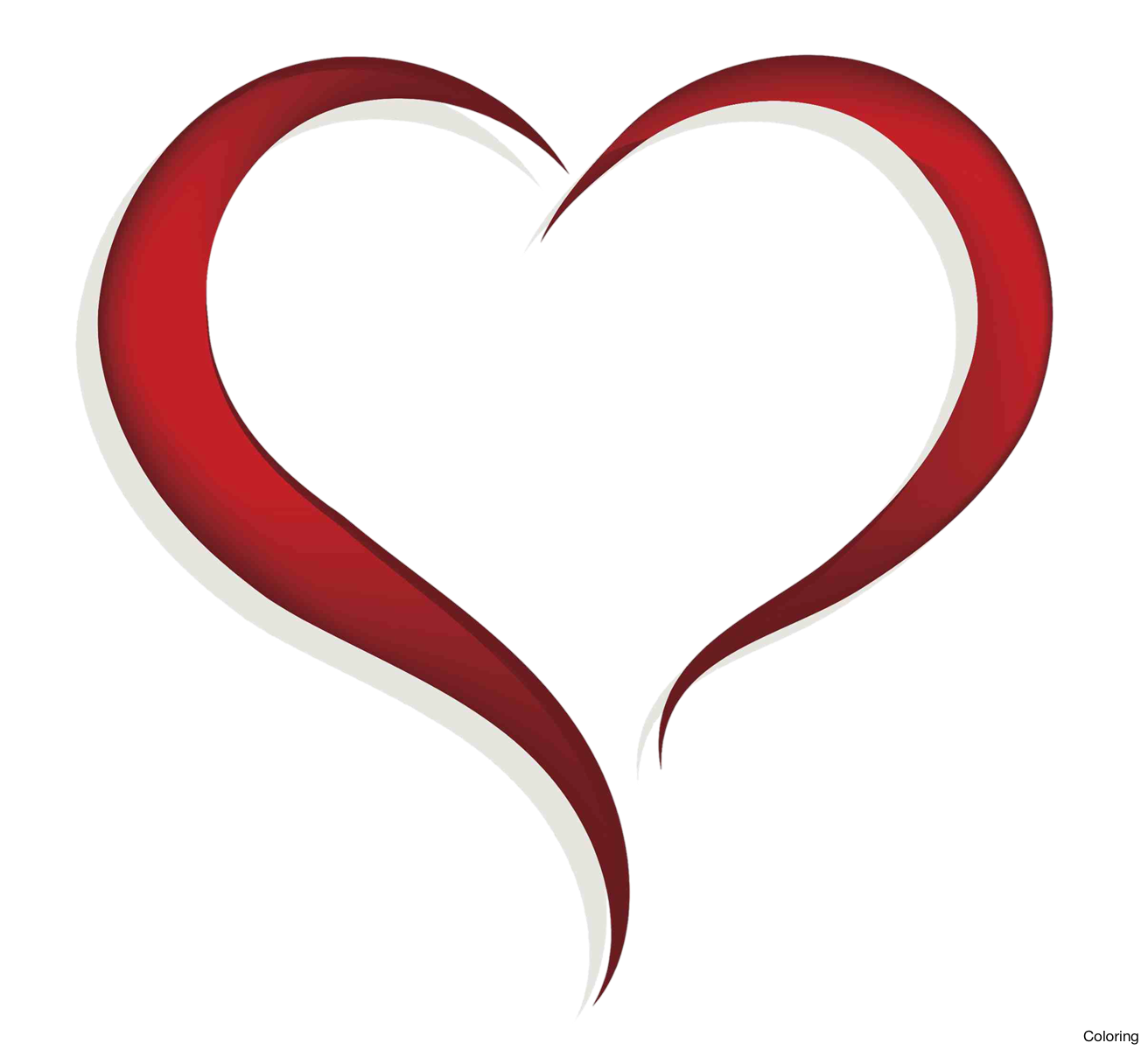 Heat clipart colourful heart. High resolution free on