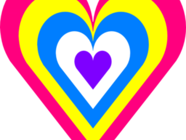 Heat clipart colourful heart. Free download clip art
