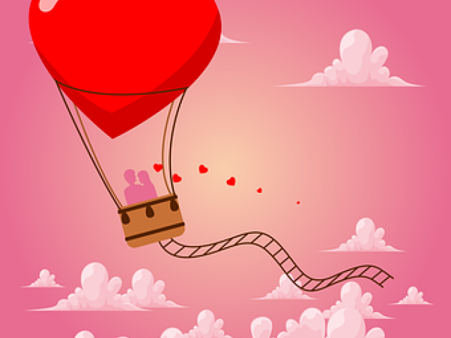 Heat clipart couple heart. Free download clip art