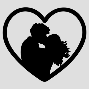 Love and iphone x. Heat clipart couple heart