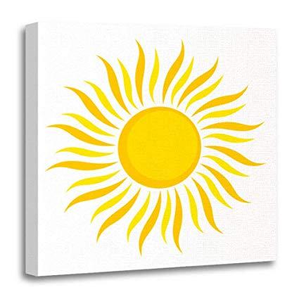 Amazon com emvency canvas. Heat clipart decoration