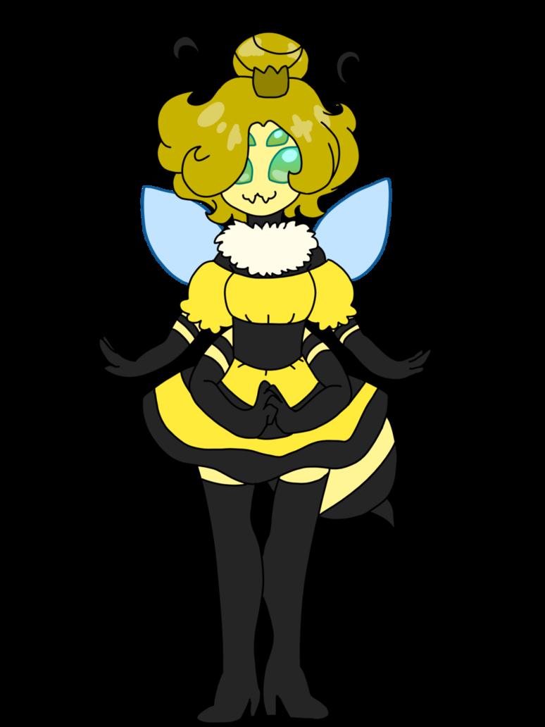 Queenie the bee monster. Heat clipart exhausting