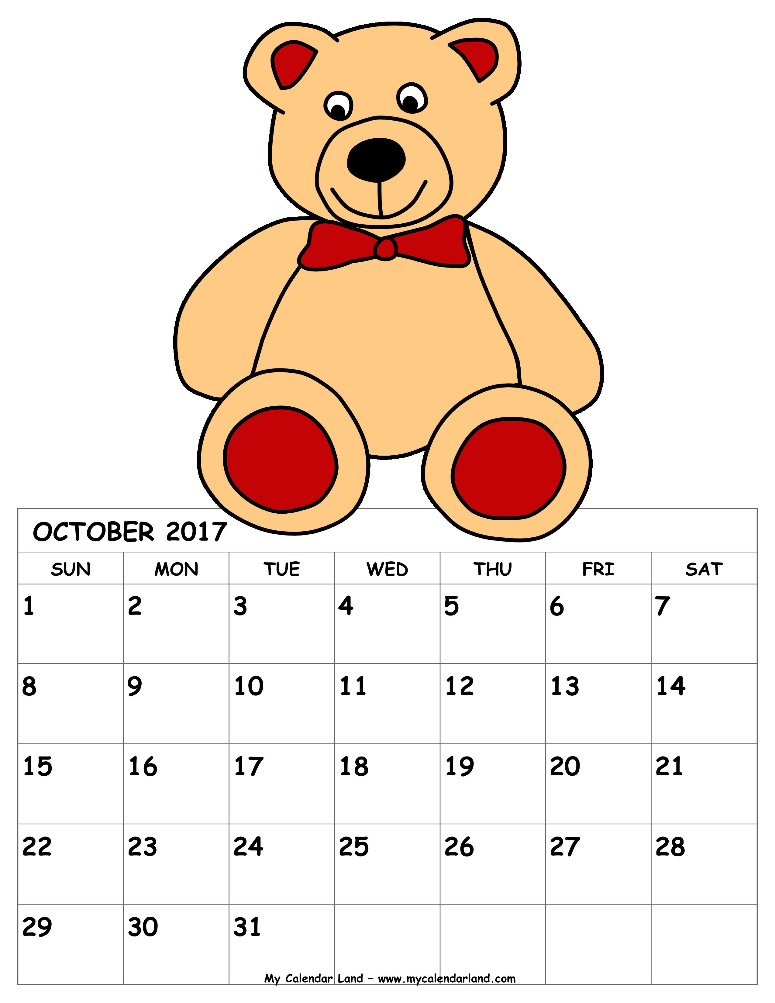 October my land blank. Heat clipart february calendar