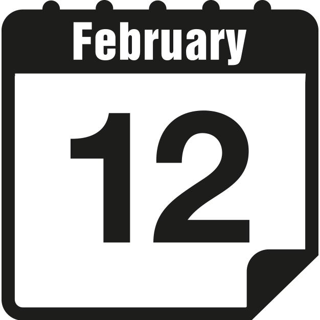 Free on dumielauxepices net. Heat clipart february calendar
