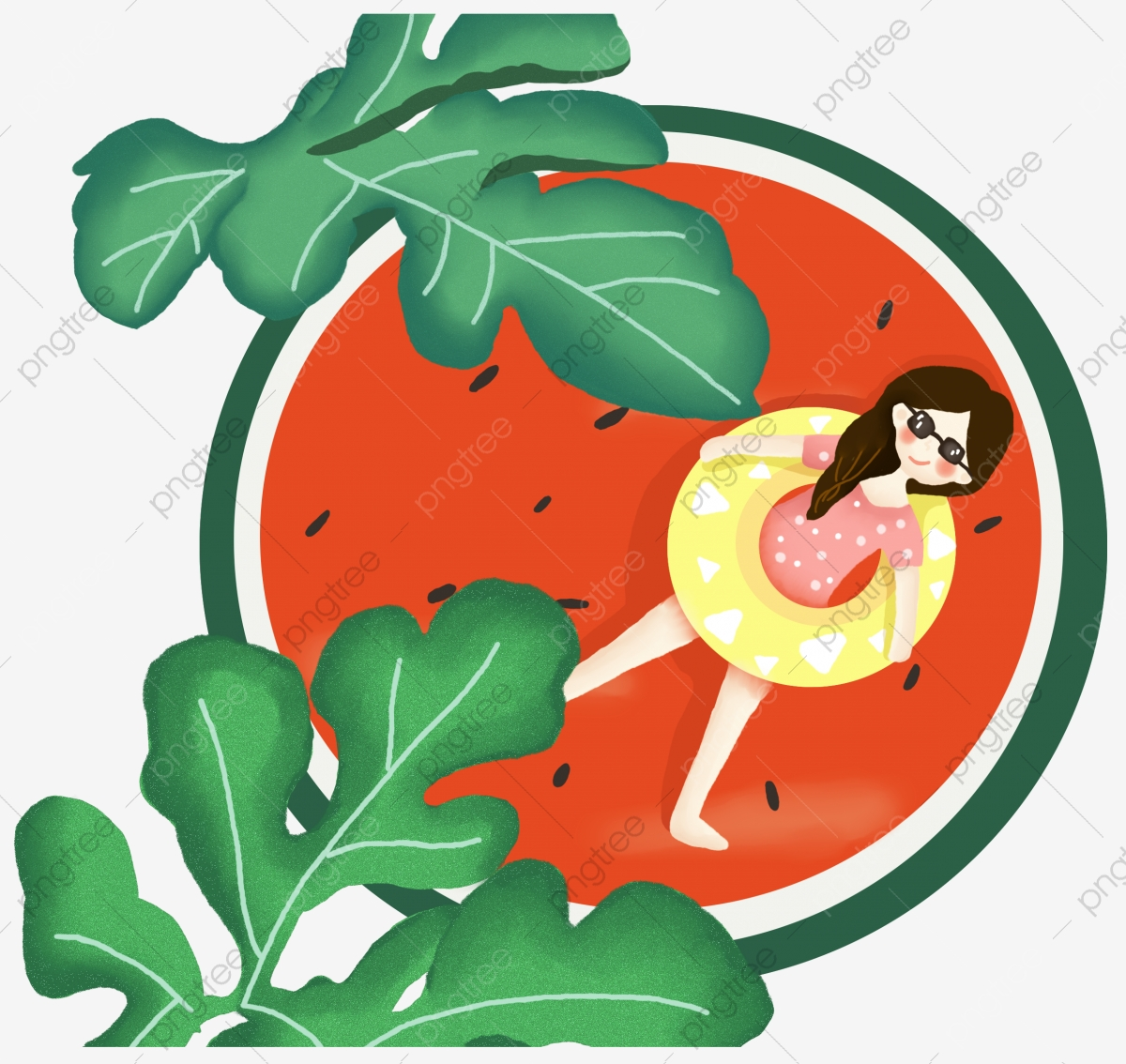 Heat clipart file. Great small summer watermelon