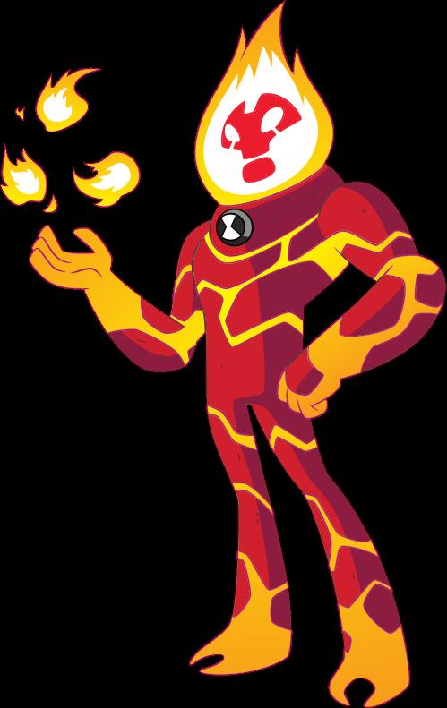 Heatblast reboot ben wiki. Heat clipart fuego