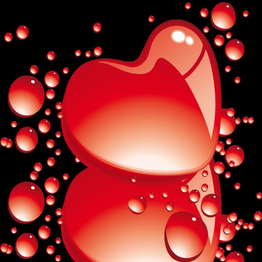Coeur recherche google pinterest. Heat clipart funky heart