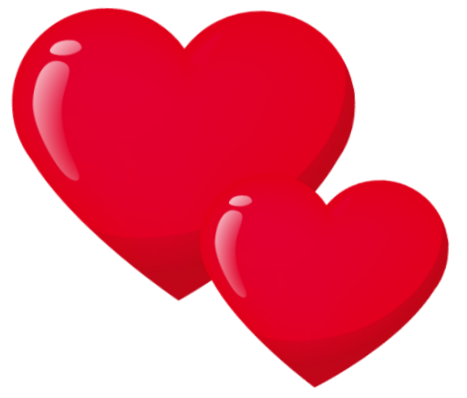 Heat clipart hears. Love lovely red ftestickers