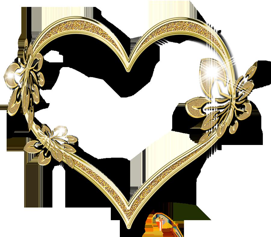 Corazones dorados imagenes buscar. Heat clipart heart google