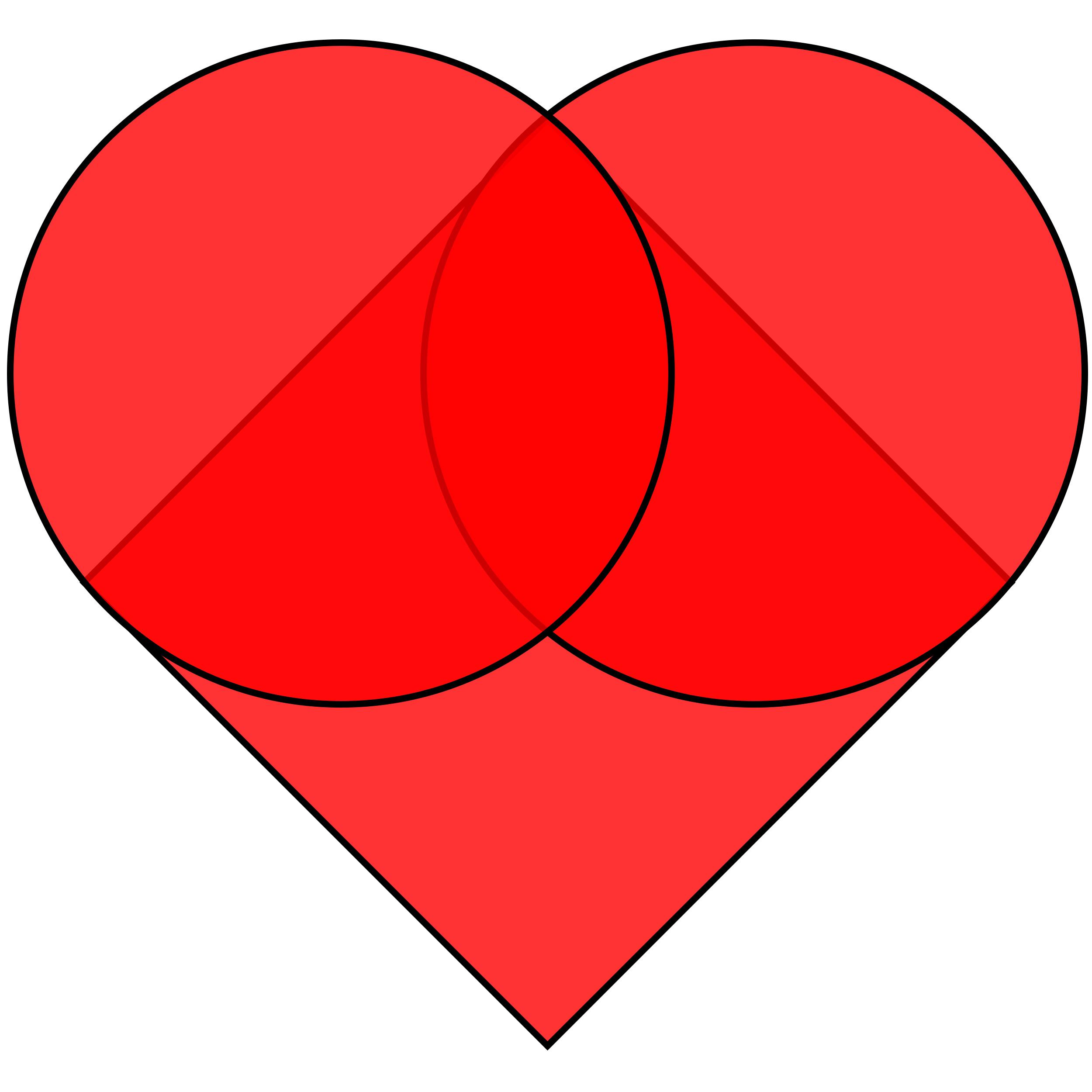 How to make a. Heat clipart heart shape