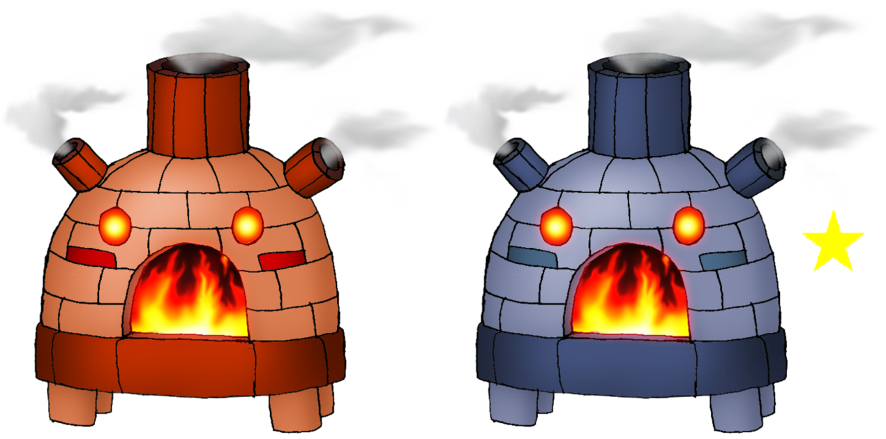 stovenate by skarmorysilver. Igloo clipart clay