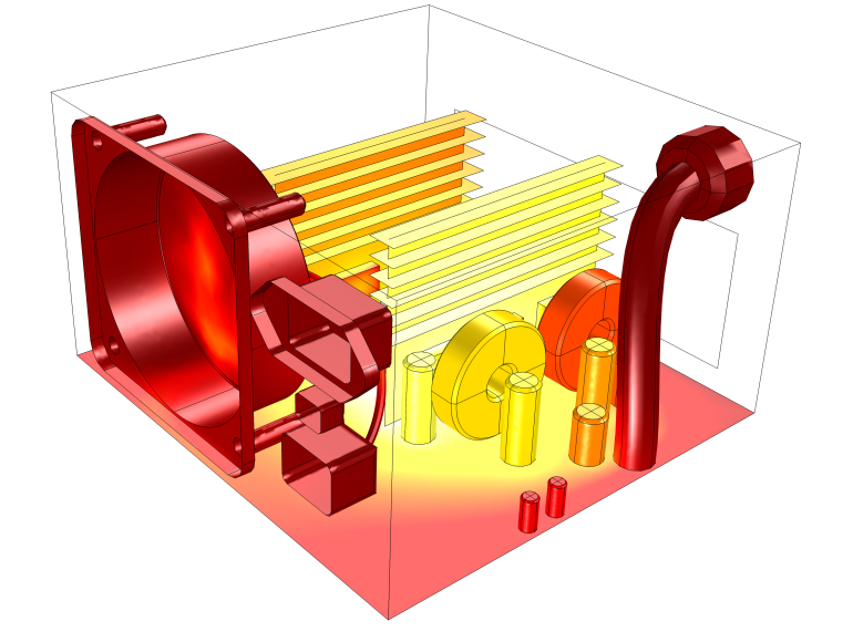 Conjugate transfer comsol blog. Heat clipart heat energy