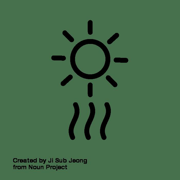 tips for sleeping. Heat clipart heat stress