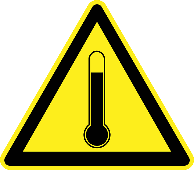Amr care group warning. Hot clipart heat safety