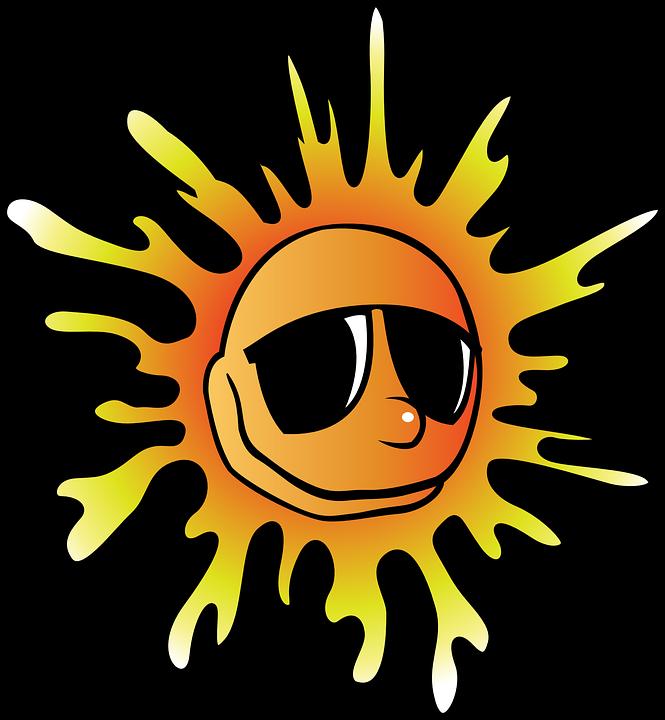 Heat clipart heat stress. Wisconsin awareness day june