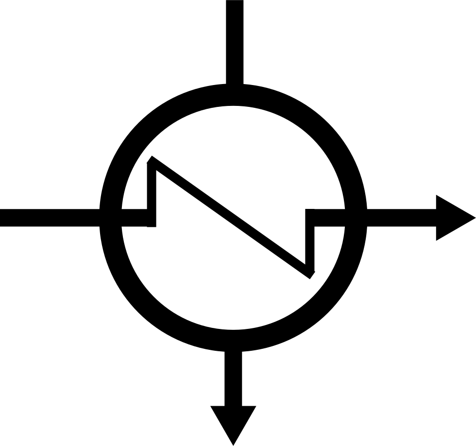 Marker of exchanger svg. Heat clipart heat transfer