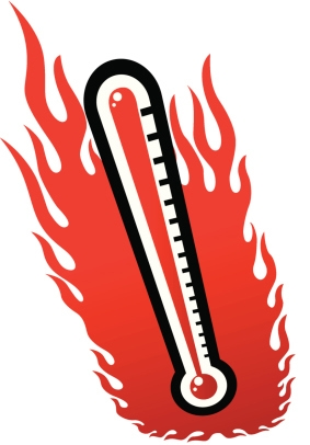 Station . Heat clipart heat wave