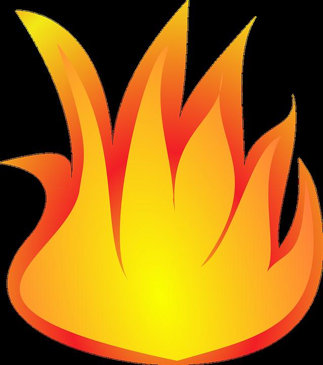 Orange fire free on. Heat clipart intertwined