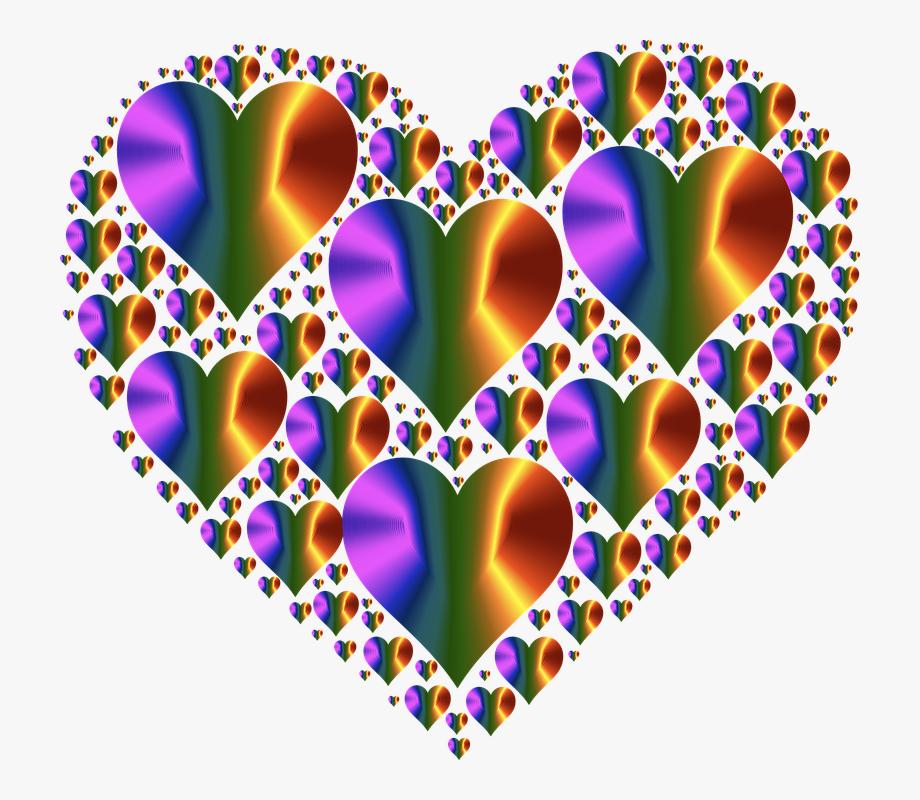 Three heart clip art. Heat clipart love hearts