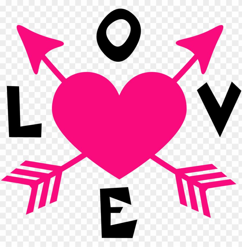 Heat clipart many heart. Wedding design love arrow