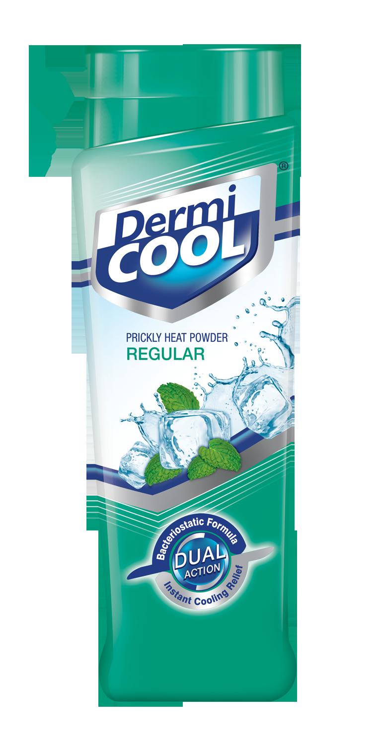 Heat clipart prickly heat. Dermicool powder regular g