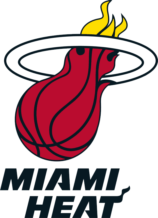 Miami colors team color. Heat clipart red wave