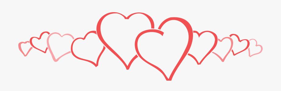 Heat clipart row heart. Free of a big