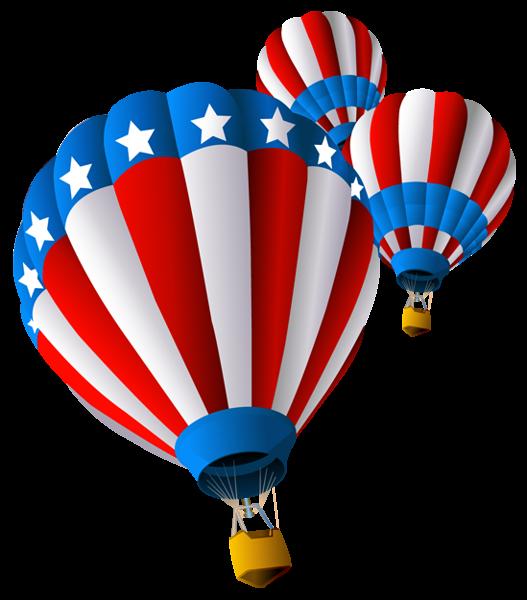 Sunglasses clipart patriotic. Usa air balloon png