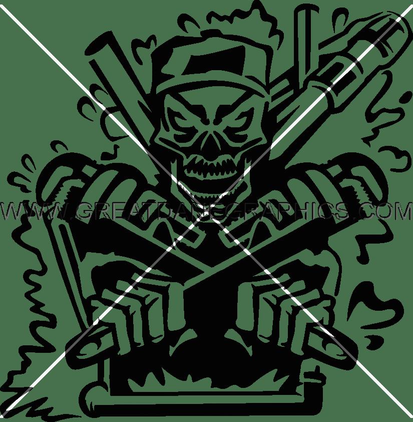 Heat clipart skeleton. Plumber production ready artwork