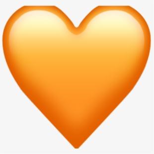 Heat clipart small heart. Coloured emoji iphone peach