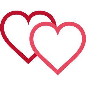 Heat clipart string heart. Hearts art inspiration silhouette