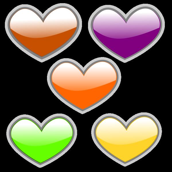 Heat clipart three heart. Free cliparts download clip