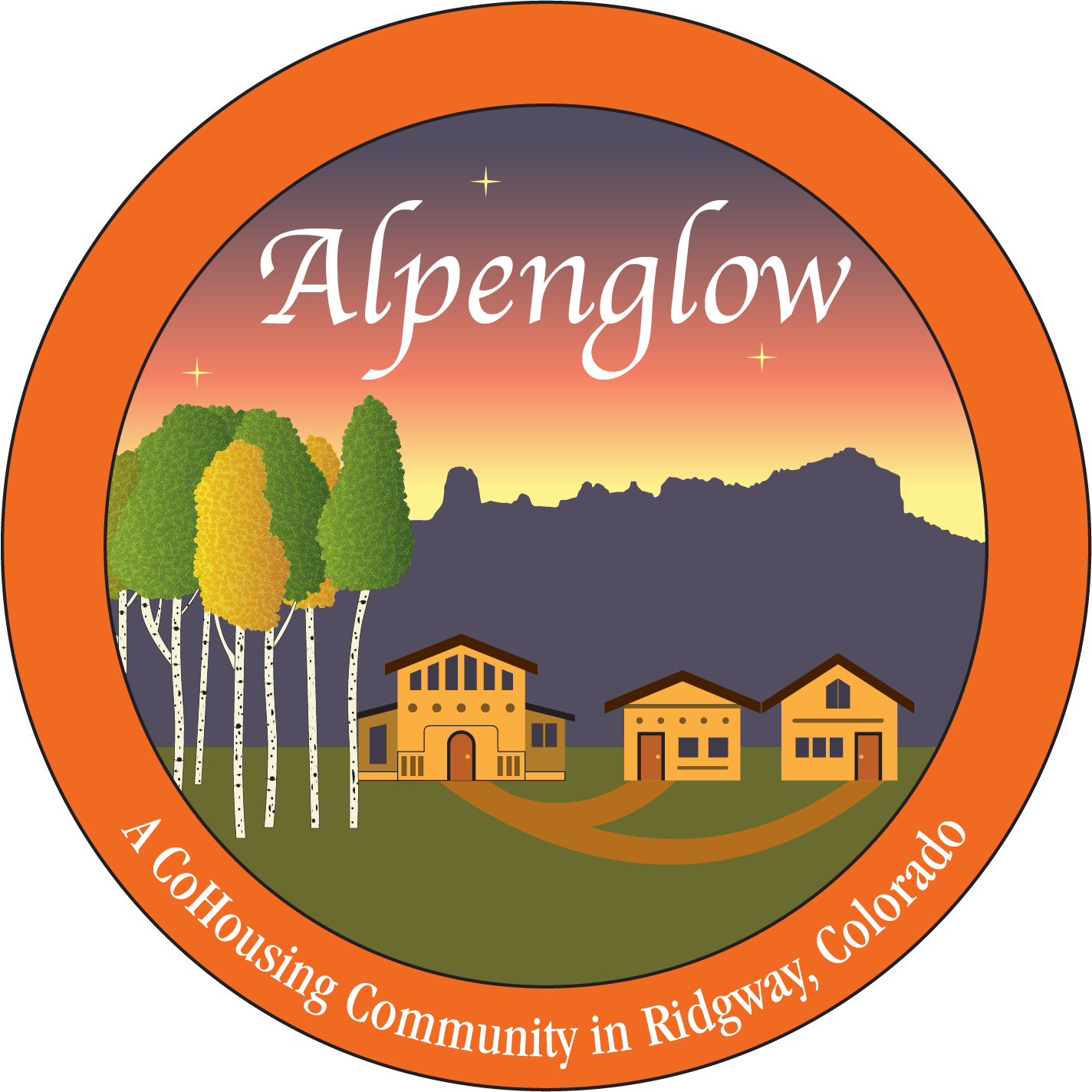 Meet our members alpenglow. Heat clipart trail heart