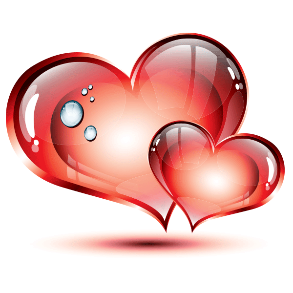 Heat clipart two heart. Hearts images pictures