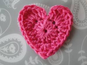 How to crochet a. Heat clipart two heart