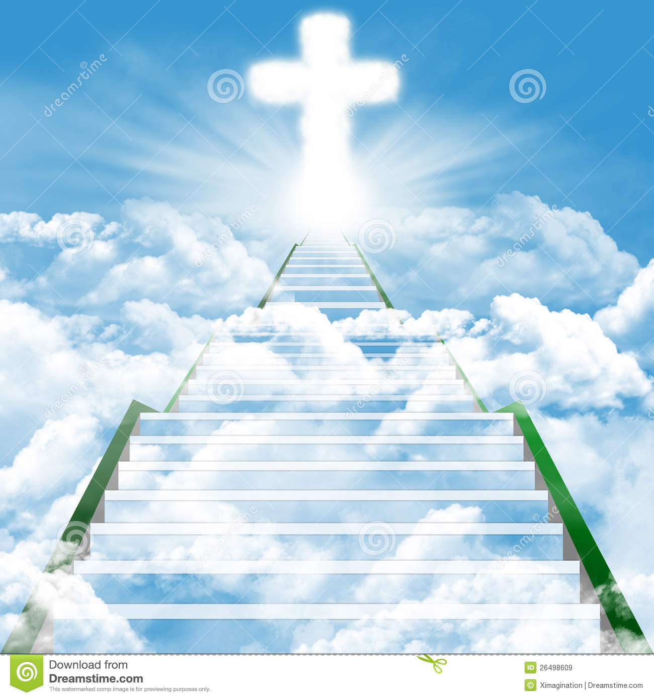 Staircase to . Heaven clipart