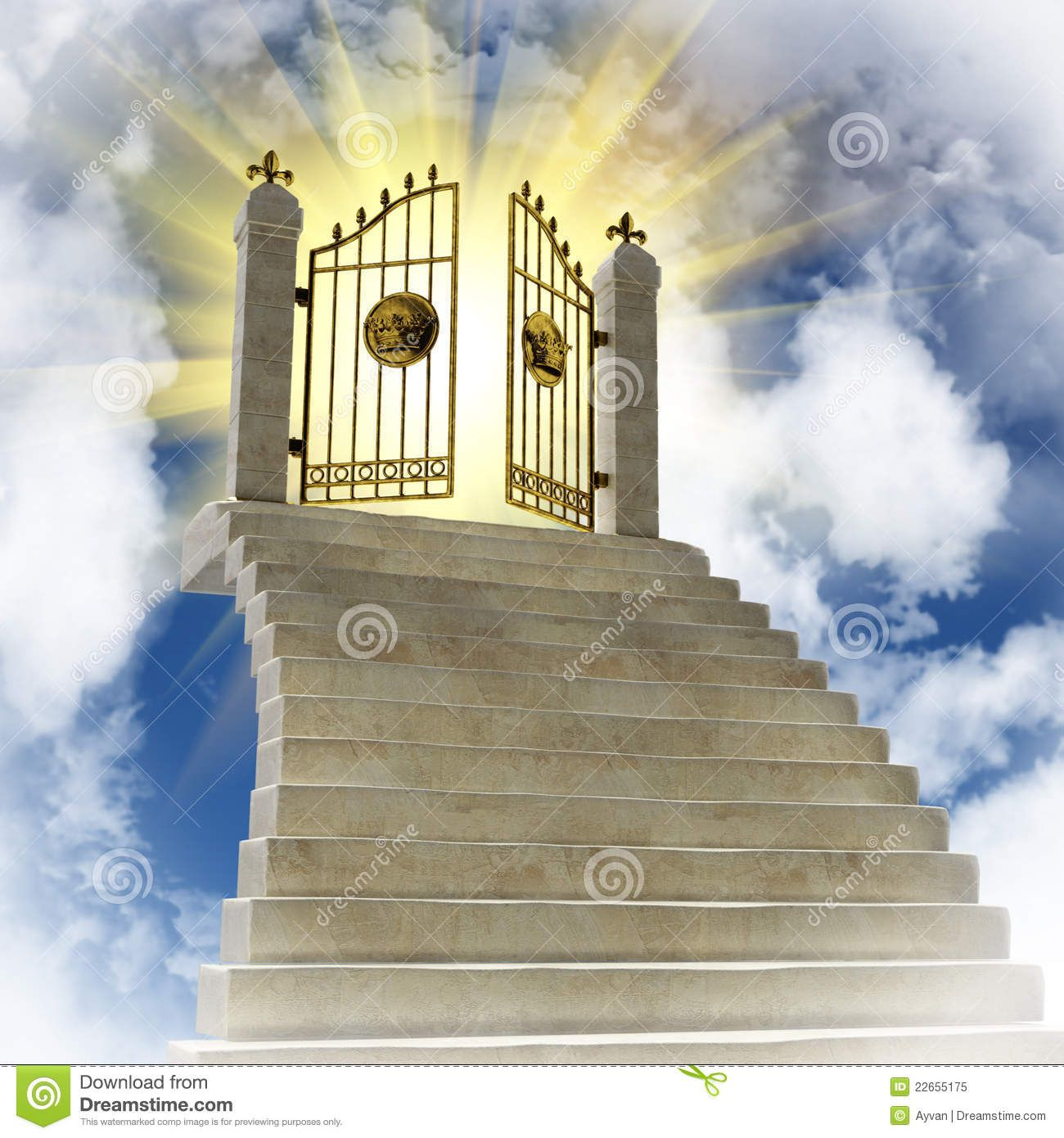 Heaven clipart. Pearly gates of the