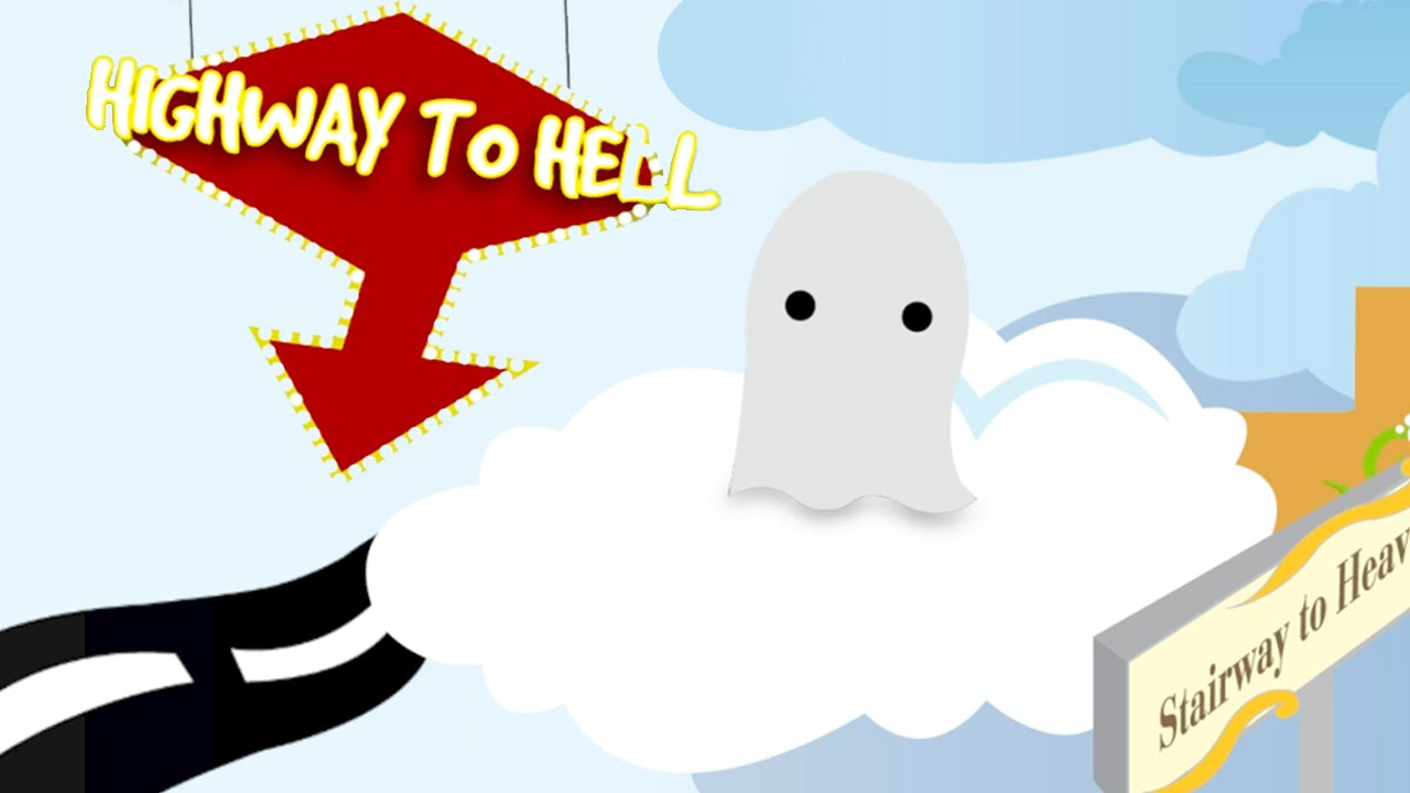 Heaven clipart afterlife. Highway to hell the