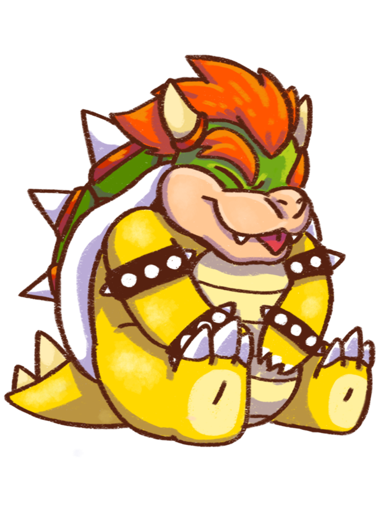Heaven clipart all things bright and beautiful. Cute lil bowser by
