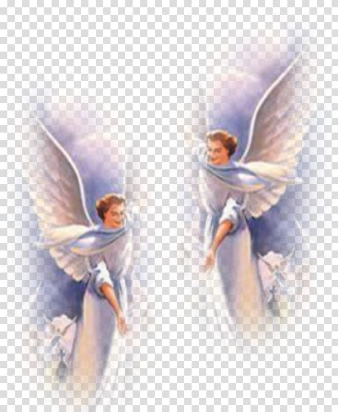 Two illustration guardian angel. Heaven clipart angels background hd