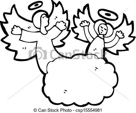 Heaven clipart black and white. Clip art panda free