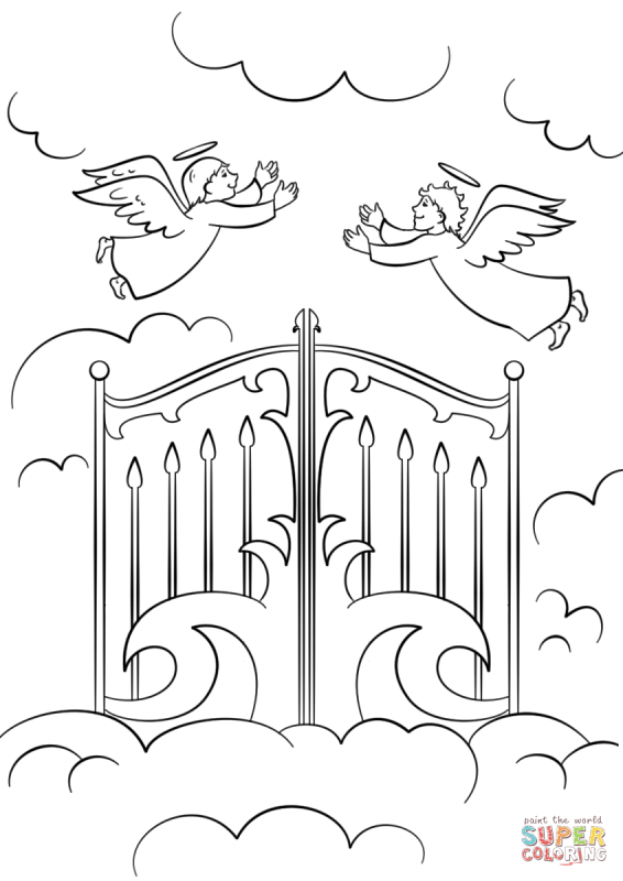 Book drawing child pencil. Heaven clipart black and white