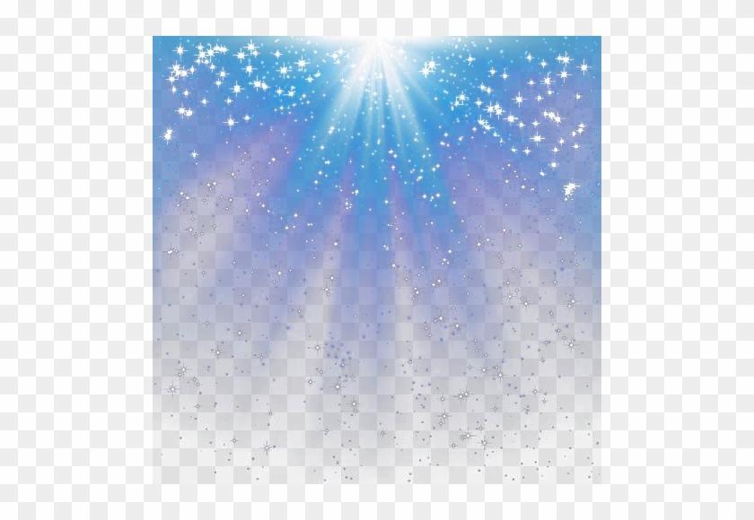 Blue star stars layers. Heaven clipart border