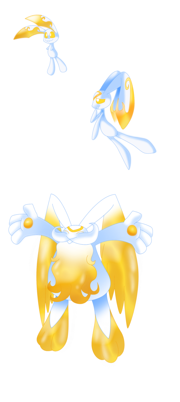 Fakemon on the first. Heaven clipart bright light