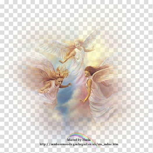 Guardian angel of god. Heaven clipart deity